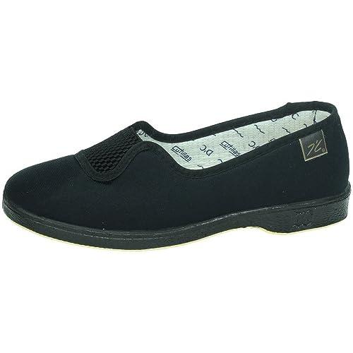 MADE IN SPAIN 413 Goma Medio Verano SEÑORA Zapatillas: Amazon.es: Zapatos y complementos
