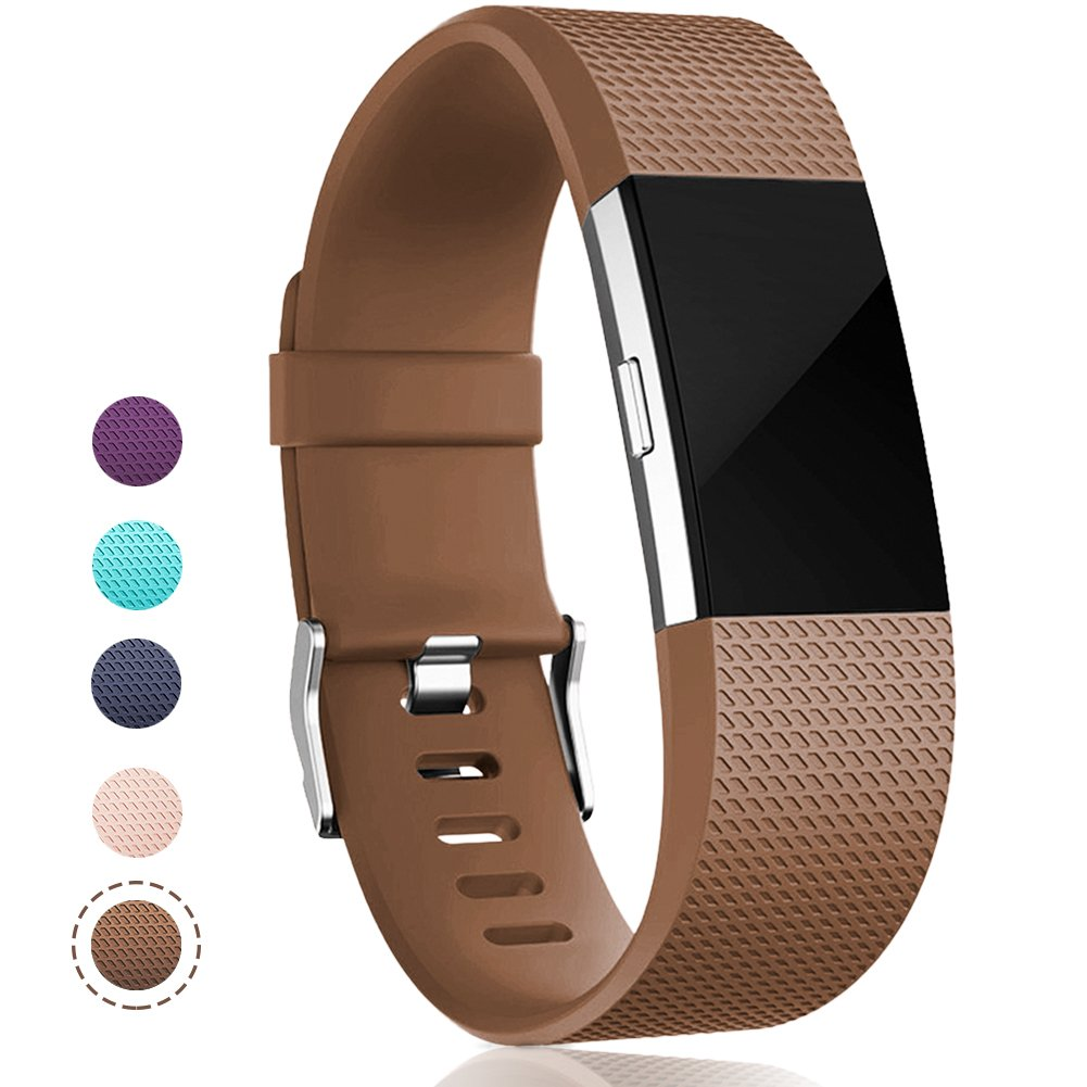 Geak Fitbit Charge 2バンド、Special Edition交換用バンドfor Fitbit charge2 Large Small 12異なる色 B01N9N4M6A Small|#01 Coffee #01 Coffee Small