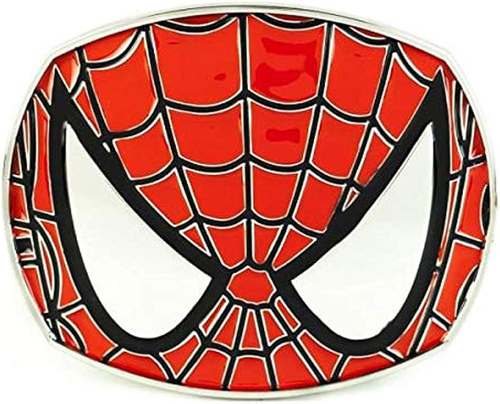 Marvel Comics Spider man Face Belt Buckle: Amazon.co.uk
