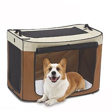 Amazon.com: Jaula de Mascota Perro Tamaño Grande para Coche ...