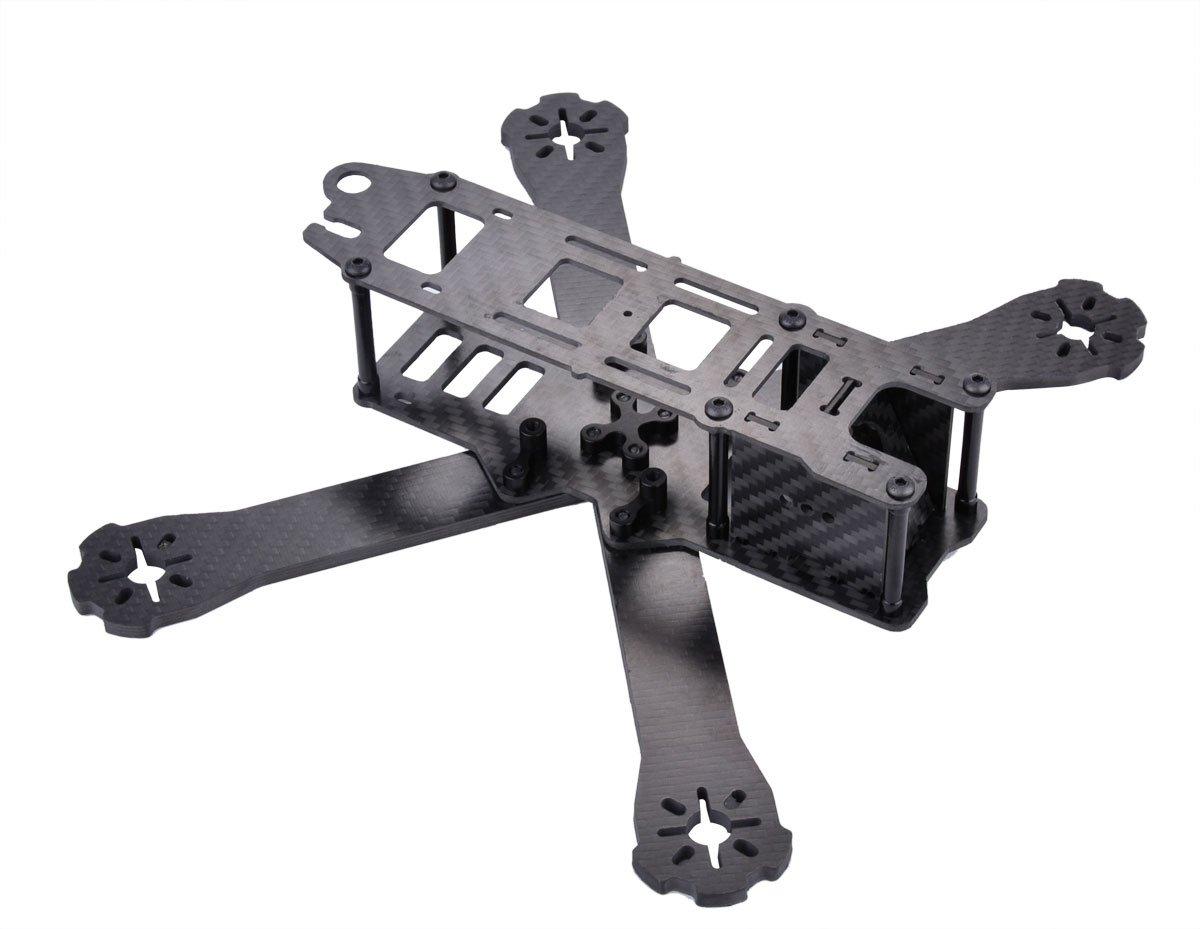 Amazon.com: Crazepony ZMR220-RX H210 H220 FPV Racing Drone Frame ...