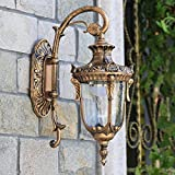 European Style Hallway Bedroom Garden Wall Lamp With 3W LED Light