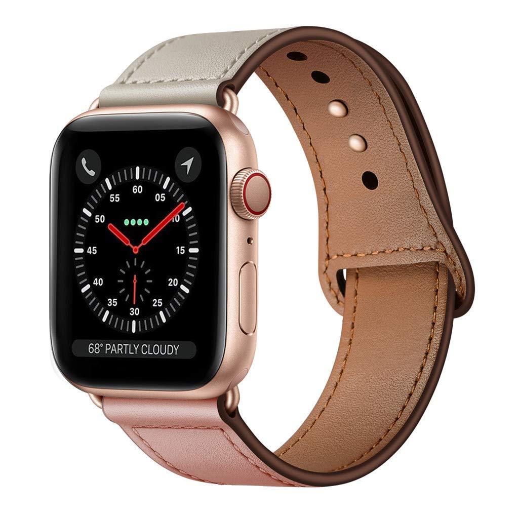 Malla Cuero para Apple Watch (38/40mm) KYISGOS [7VZFW9LW]