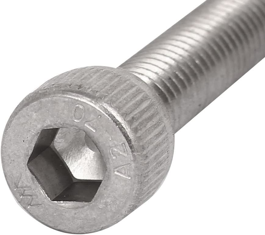 AISI 304 Stainless Steel 5//16-18 X 3 Set Screws UNC Coarse Thread 18-8 3 pcs Cup Point Hex Socket Drive