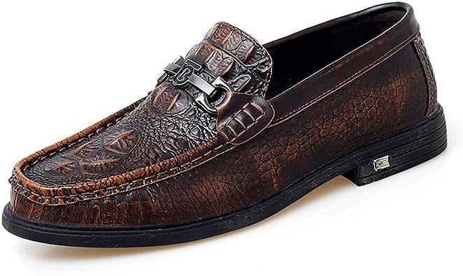 Amazon.com | JHB Men's Slip on Dress Penny Loafers ...