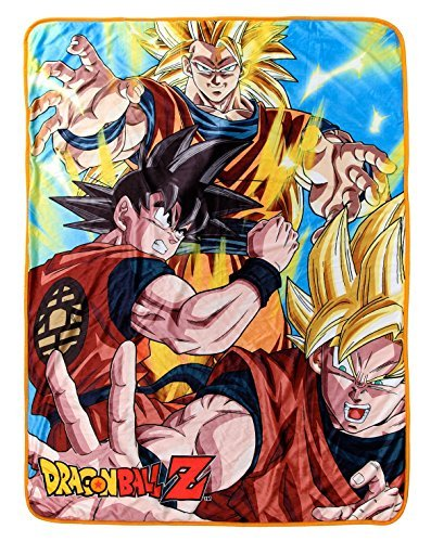 iyan 3 Goku Throw Blanket ()
