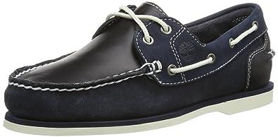 Timberland Damen Ek Classic Bootsschuhe, Blau (Navy), 35,5 EU/3 UK
