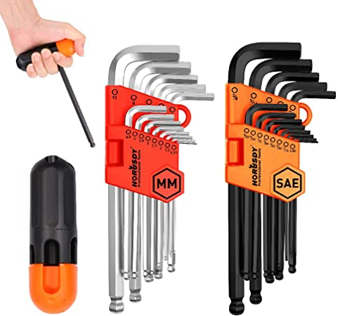 electrical tools: allen wrench set