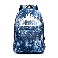 Sac à Dos Fortnite,T-Mix Sac à Dos d'école Lumineux Fortnite Galaxy Sac à Dos Sac à Dos Quotidien Fortnite Battle Royale Sac à Dos décontracté