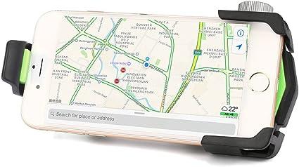 BEKUTY Support de T/él/éphone V/élo Universel 360 Anti-d/érapant Support de Fixation pour Support de Guidon Accessoire Velo Matone Support Telephone Velo