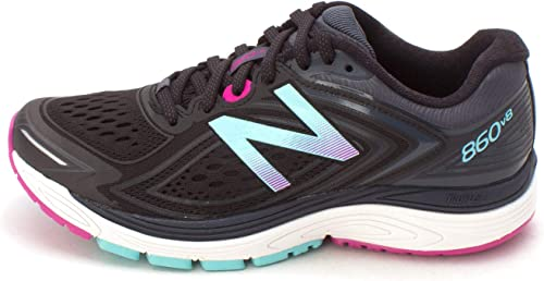 Dire effetto Montgomery  New Balance Womens 2018 NBx 860 V8 Trainers - Black/Poisonberry - UK 9:  Amazon.co.uk: Shoes & Bags