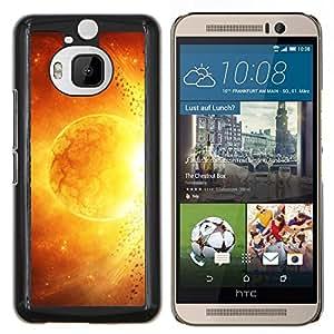 LECELL--Funda protectora / Cubierta / Piel For HTC One M9Plus M9+ M9 Plus -- Espacio Planet Galaxy Estrellas 48 --