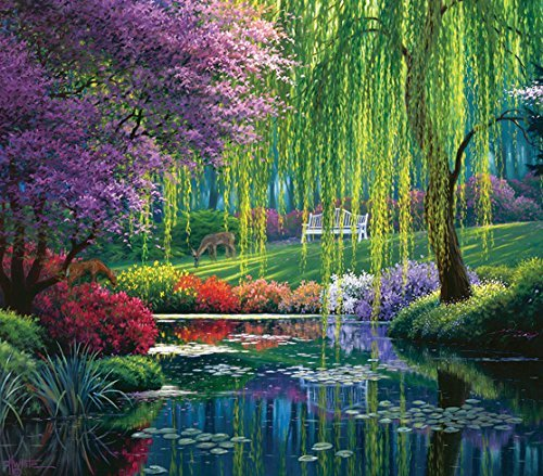 Willow Pond, A 300 Piece Jigsaw Puzzle by SunsOut by SunsOut