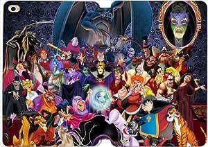 todos los personajes de Disney 0lp3im Mini Funda iPad caso funda de piel funda tablet e1g4t 1,2,3 flip funda protectora única