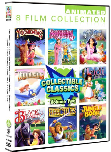 Animated Classics Collection Pack Pocahontas