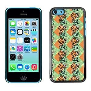 ZECASE Funda Carcasa Tapa Case Cover Para Apple iPhone 5C No.0000119