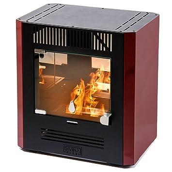 Divina Fire estufa de bioetanol Burdeos 2300 W Calefacción Casa 25 m² Karola: Amazon.es: Hogar