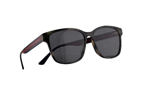 Amazon.com: Gucci GG0417SK Havana - Gafas de sol con lentes ...