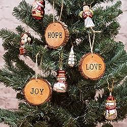 Set of Rustic Ornaments Wood ornaments Christmas tree ornaments wooden ornaments Holiday ornaments Christmas decor Unique ornaments pine