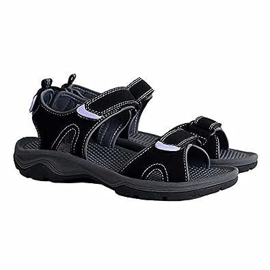 Khombu Women's River Sandal Black / Purple Size 7 M US