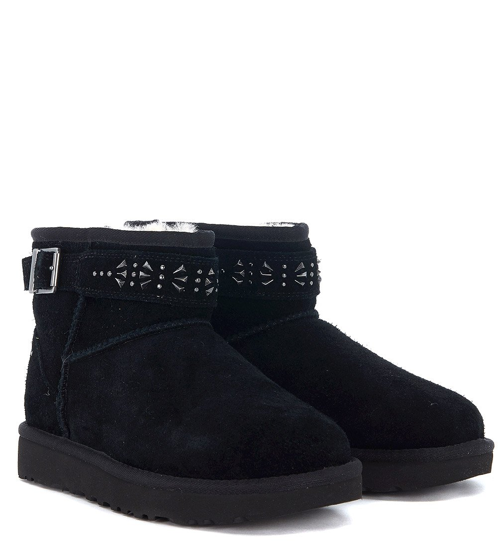 UGG Womens Jadine Shearling Boot Black Size 5 by UGG (Image #2)