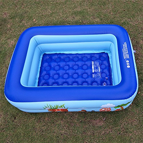 BELUPAI Swimming Pool, Family Swimming Pool Made of PVC Materials Environmentally Safe and Suitable for Infants and Adults Children's Eco-friendly Swimming Pool