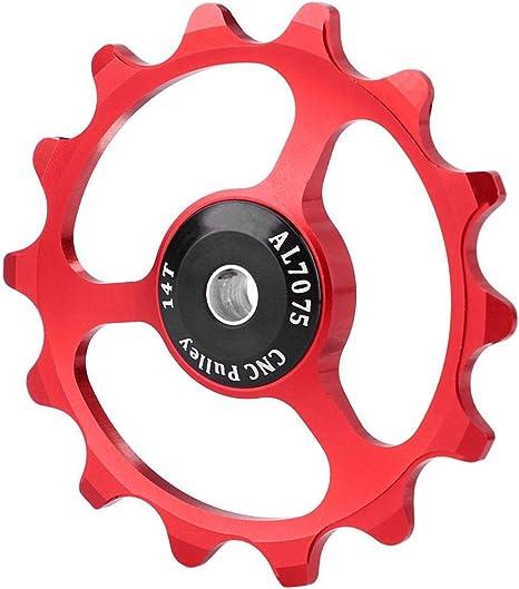 Outbit Desviador de Bicicleta Ligero de Alta Resistencia 14T ...
