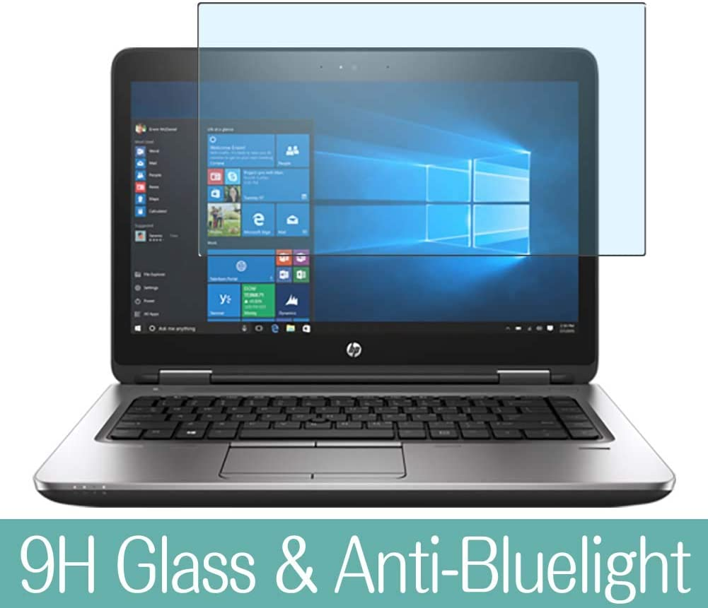 """Synvy Anti Blue Light Tempered Glass Screen Protector for HP ProBook 640 G3 14"""" Visible Area 9H Protective Screen Film Protectors"""