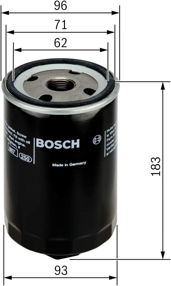 Bosch 0451203087 Ölfilter Auto