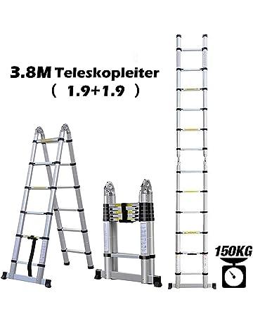 Auflageschutz und Aushebesicherung Set inkl 50 mm gekr/öpft auf Dachsparren DEKRA gepr/üft Alu Dachleiter ohne Farbe Made in Germany 1,96 m mit Dachhaken zur Montage f/ür Pfannenziegel