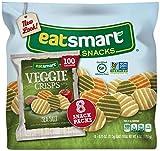 Eatsmart Snacks Veggie Crisps, 100 Calorie Multipack, Sea Salt, 8 Count