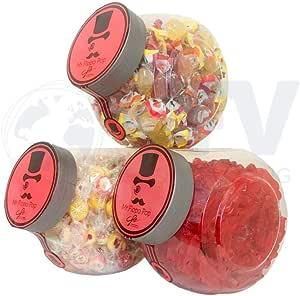 Candy Bar De Caramelos Bonelle, Gominolas De Fresa Con Forma ...