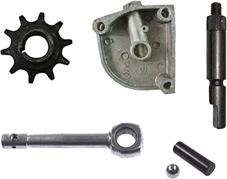 49-80CC Engine Motorized Bicycle Sprocket Clutch,Magneto Side,Clutch Gear Cover