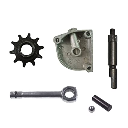 Amazon JRL 3 Holes Clutch Cover Arm Lever 10Tooth Drive Sprocket For Motorized Bike Automotive