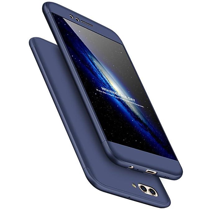JEPER Funda Huawei P8 Lite 2017 360° Protectora 3-en-1 PC Ultra Delgado Choque Absorción Anti-Arañazos Case Carcasa para P8 Lite 2017 5.2 Pulgada Caso ...