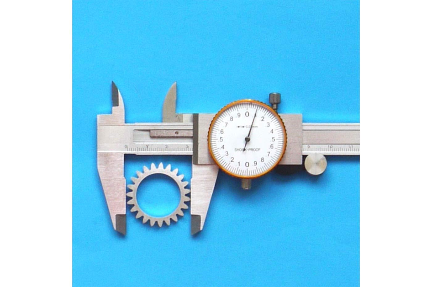 Calibro centesimale a corsoio con orologio precisione 150 mm
