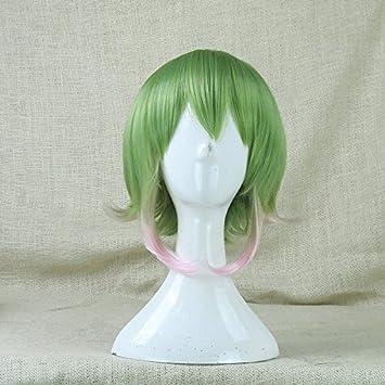 GSSO Sakura cosplay cosplay pelucas peluca polvo verde degradado ...