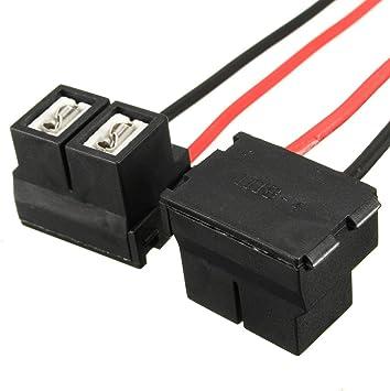 Audew 2x H7 2 Pins 12 24v Scheinwerfer Halter Lampenfassung Steckverbinder Adapter Stecker Sockel Ersatz Auto