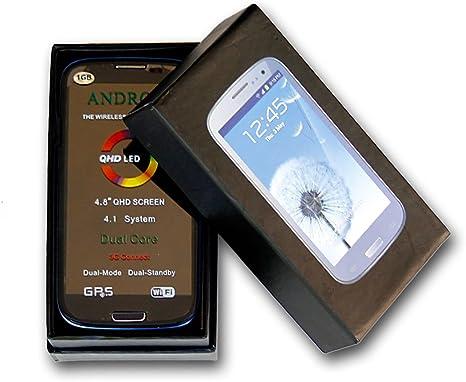 Teléfono dual sim 3G con Android 4.1 Jelly Bean; 4,8 pulgadas ...