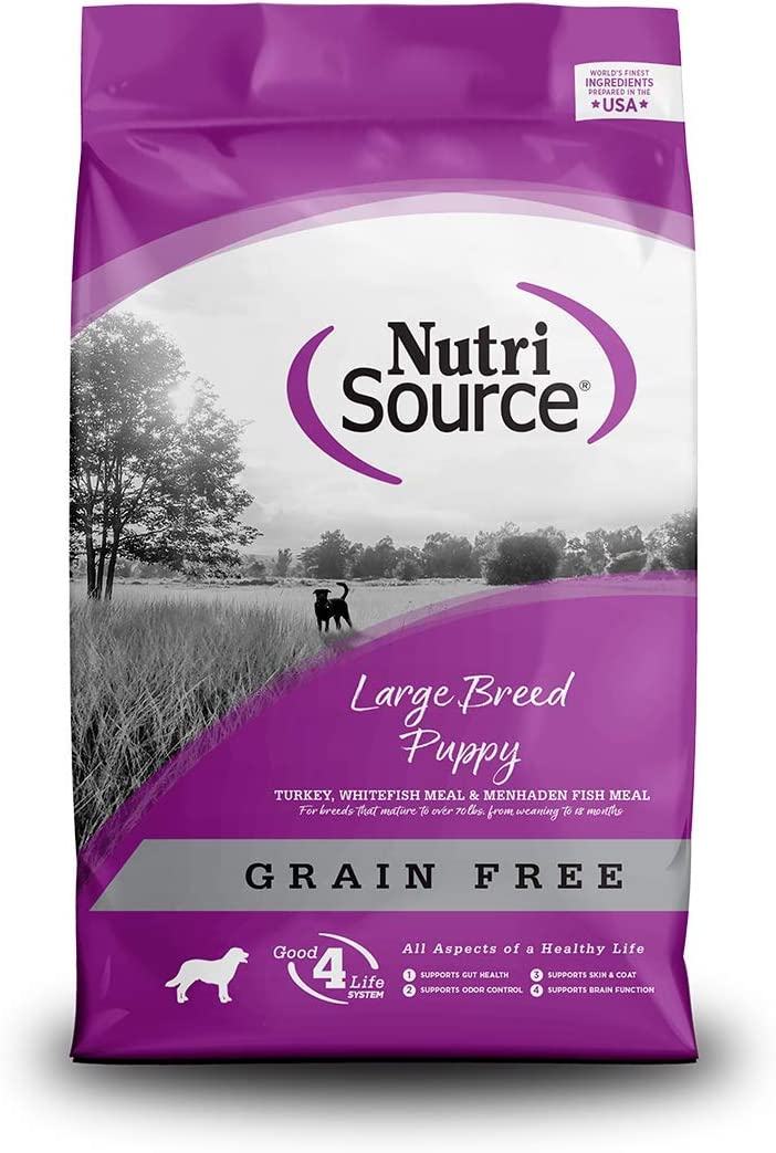 Nutrisource Grain Free ( Turkey ) Large Puppy 30Lb