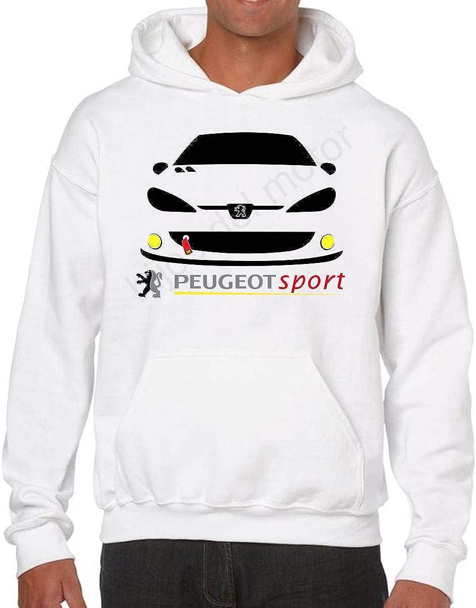 Desconocido Sudadera Peugeot 206 Sport