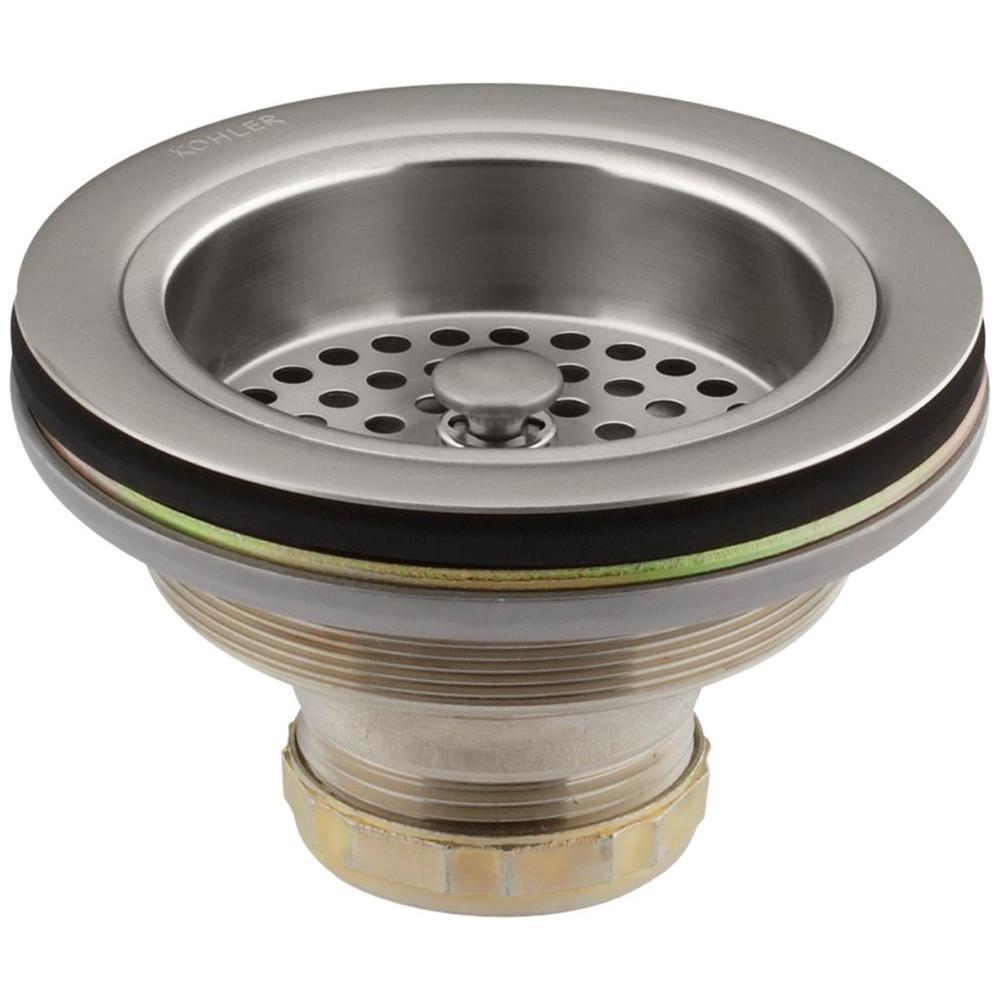 Kohler K-R8799-C-VS Duostrainer 4-1/2 in. Sink Strainer in Vibrant Stainless