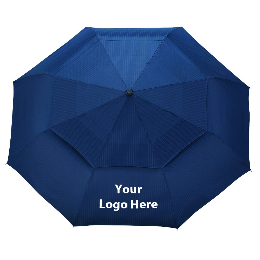 46'' Chairman Auto Open/Close Vented Umbrella - 36 Quantity - $25.30 Each - PROMOTIONAL PRODUCT / BULK / BRANDED with YOUR LOGO / CUSTOMIZED by Sunrise Identity