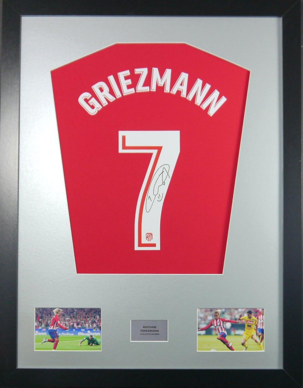 Antoine Griezmann Athletico Madrid firmado camiseta pantalla ...