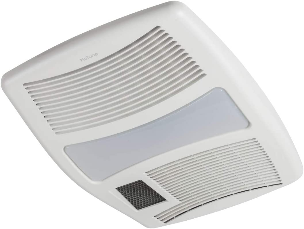 Broan 100HFL Directionally-Adjustable Bath Fan with Heater and Fluorescent Light