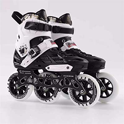 XIANGNAIZUI Professional Inline Skates Roller Skating Shoes 480 Or 3110mm Changeable Slalom Speed Patines Free Skating Racing Skates : Sports & Outdoors