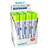 Whip-It! 420ml Whip-It Premium Butane Can (Pack of 12 Cans)