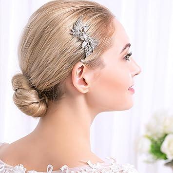 Haixng Braut Kamm Klassische Symmetrische Styling Hochzeit Zubehor