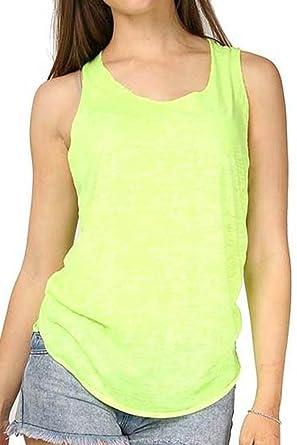 7c9c4d5b0b2 Womens Ladies Sleeveless Racer Back Summer Burnout Jersey Vest Top Plus  Sizes  COLOR  WHITE