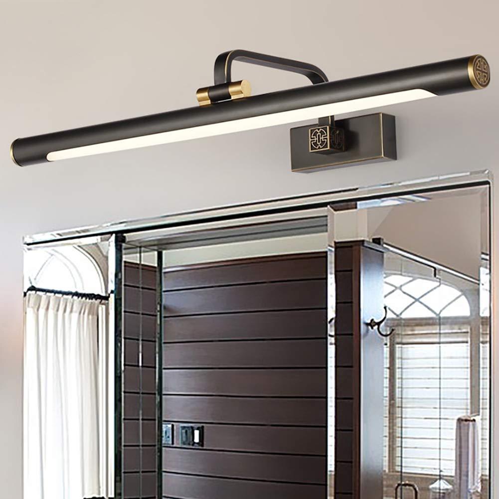 Moderne Winkel Verstellbar Badezimmer Spiegellampe Wasserdicht Anti-nebel Lange Schatten Make-up-licht Wandleuchte-bronze 8w-l 43cm Vintage LED Spiegelleuchte